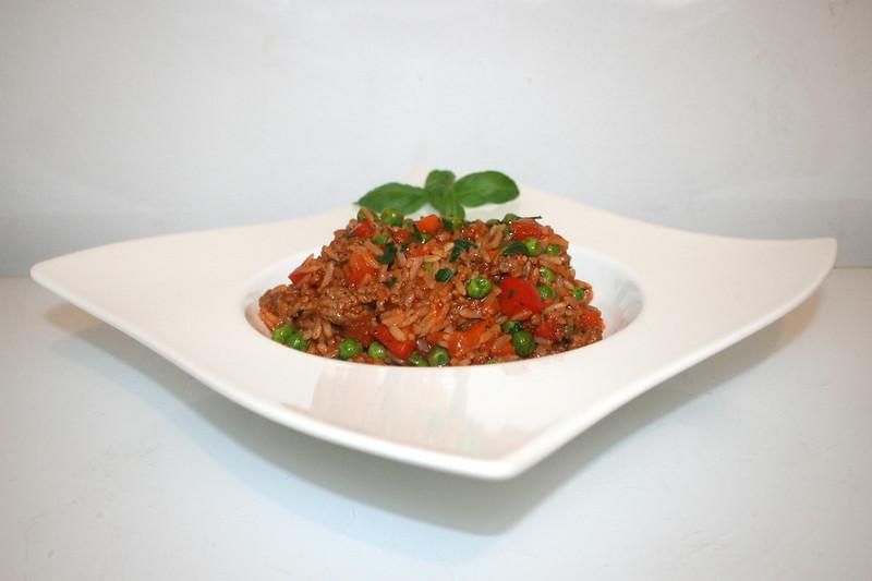 Bolognese Reistopf – das Rezept