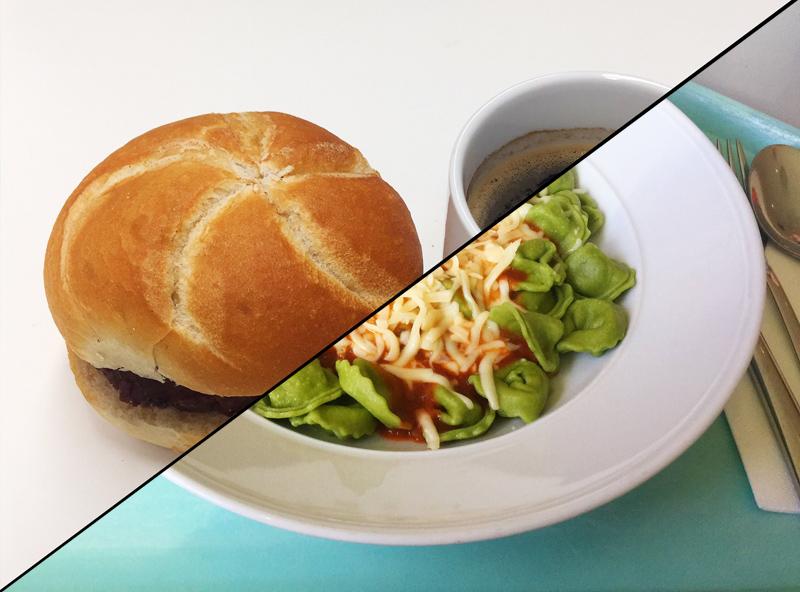 Spinat-Ricotta-Tortellini mit Tomatensauce & Mozzarella [07.11.2019]