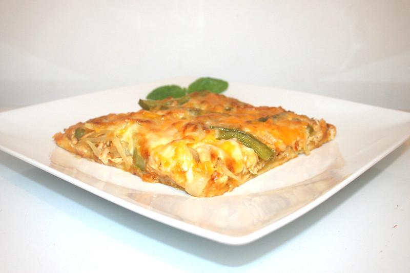 Chicken Fajita Pizza – das Rezept
