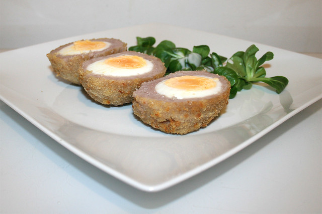 Scotch eggs (Schottische Eier) im Air Fryer – das Rezept