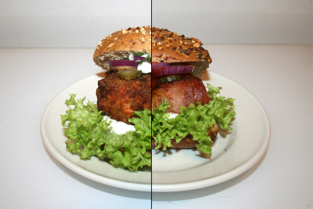 Lachs-Burger & Bacon-Chicken-Burger [27.01.2020]
