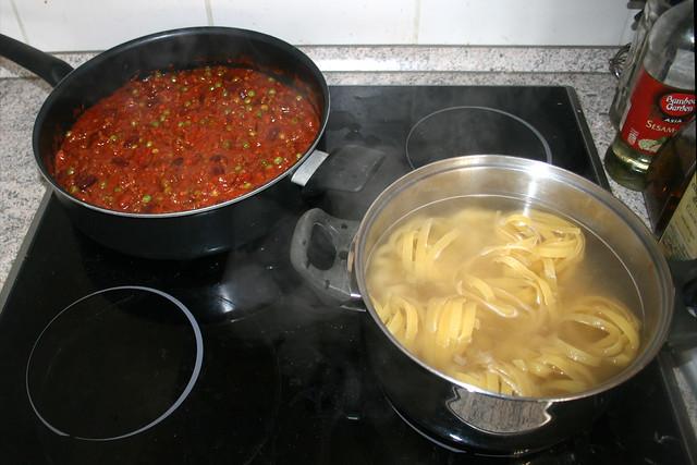 Tagliatelle mit Hackfleisch-Tomatensauce [07.02.2020]