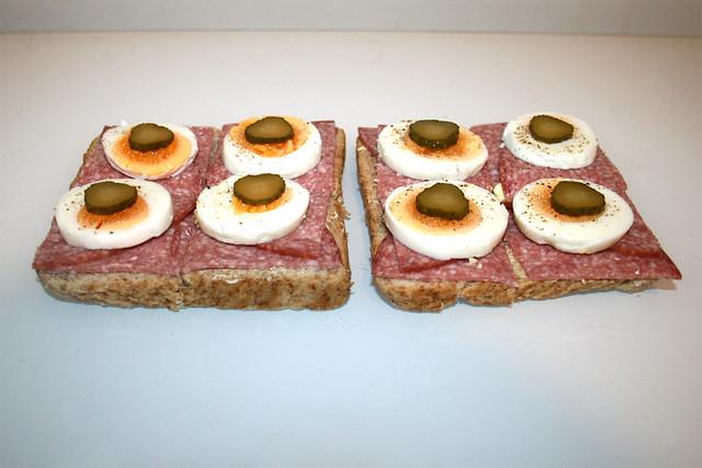 Salami-Ei-Toast [17.02.2020]