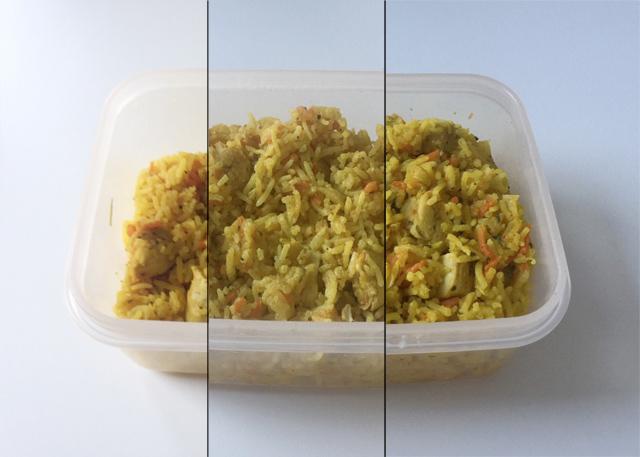Hähnchen-Reis-Auflauf – Resteverbrauch [18. – 20.03.2020] (und die Ausgangssperre in Bayern)