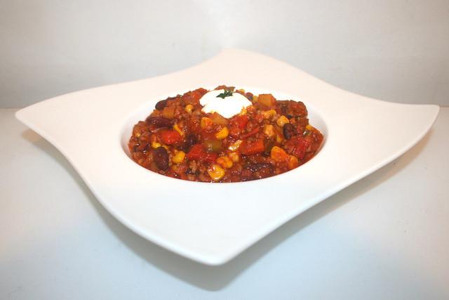 Buntes Chili con Carne – das Rezept