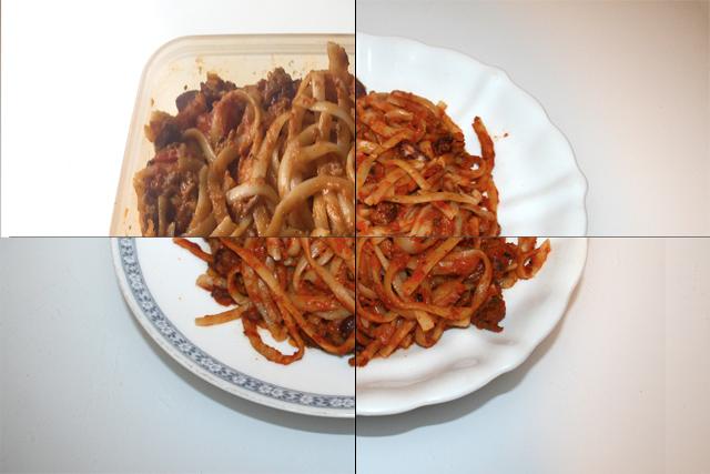 Tagliatelle mit Hackfleisch-Tomaten-Sahne-Sauce – Resteverbrauch [20. – 23.05.2020]