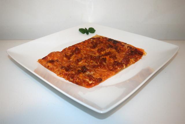 Blätterteig-Pizza mit Chorizo [25.05.2020]