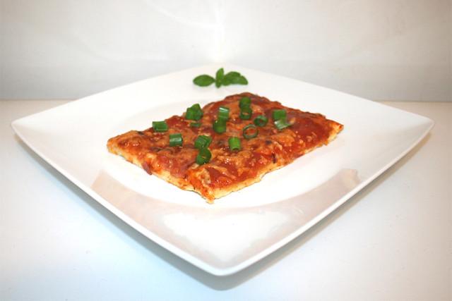 Einfache Pepperoni Salami Pizza – das Rezept