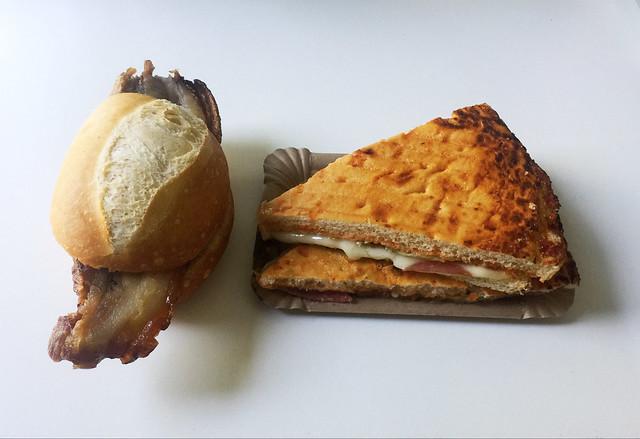 Schweinebraten & Salami-Pizzafladen [24.06.2020]