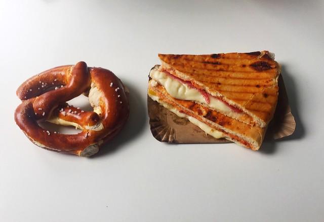 Butterbretzel & Salami-Pizzafladen [25.06.2020]