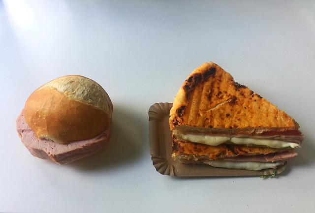 Leberkäse & Pizza-Fladen mit Schinken [02.07.2020]