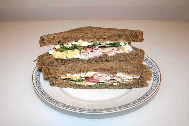Egg & Bacon Sandwich [03.07.2020]