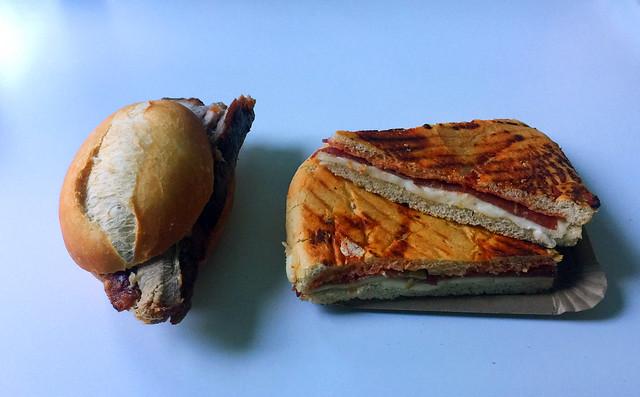 Schweinekrustenbraten & Salami-Pizzaschnitten [06.08.2020]