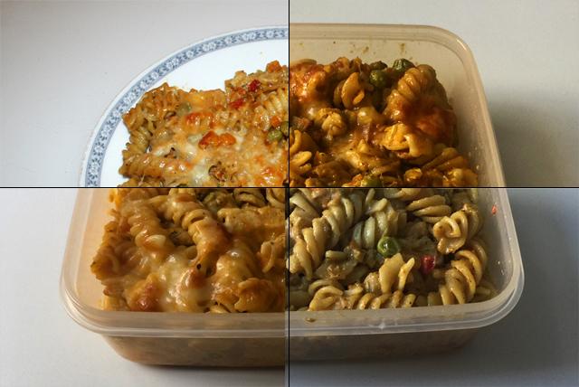 Hähnchen-Gemüse-Nudelauflauf – Resteverbrauch [17-20.08.2020]