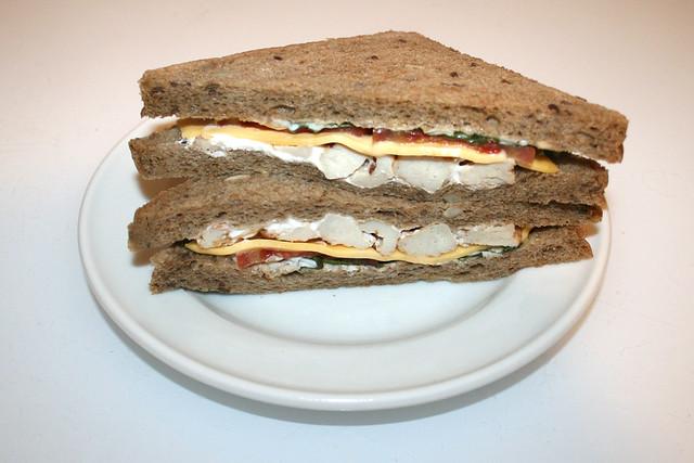 Hähnchen-Käse-Sandwich [09.09.2020]