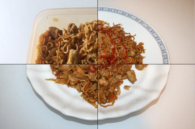 Asiatische Weißkohl-Nudelpfanne mit Huhn – Resteverbrauch [17. & 18., 20. & 21.09.2020]