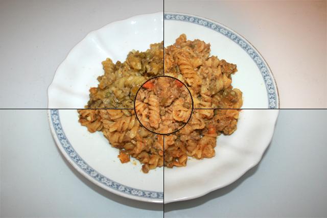 Spirelli-Topf mit Paprika, Erbsen & Möhren – Resteverbrauch [16. – 20.10.2020]
