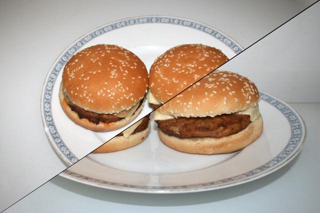 Cheeseburger aus der Mikrowelle [12.11.2020]