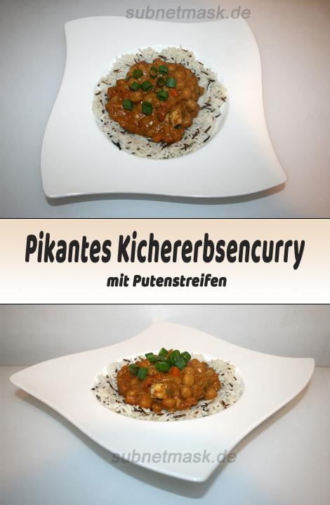 Pikantes Kichererbsencurry