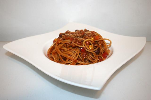 Spaghetti con Carne – das Rezept