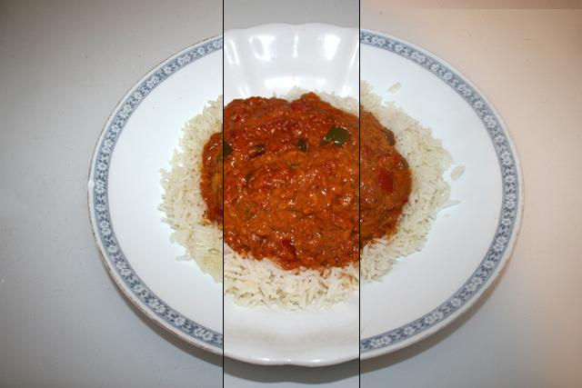 Chicken Tikka Masala – Resteverbrauch [18.-20.01.2021]