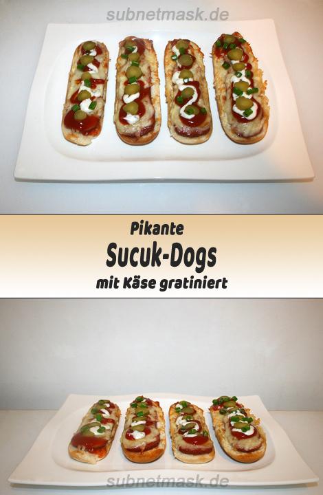 Pikante Sucuk-Dogs