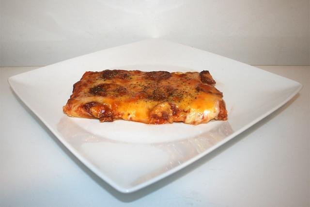 Sucuk Zwiebel Pizza